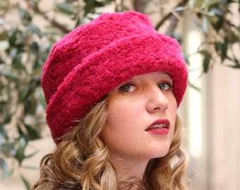 Kosaken Mütze Wintermütze Kunstpelz Hut pillboxhut Damen | Etsy