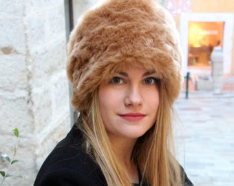 Faux fur hat  87c807e3ef3