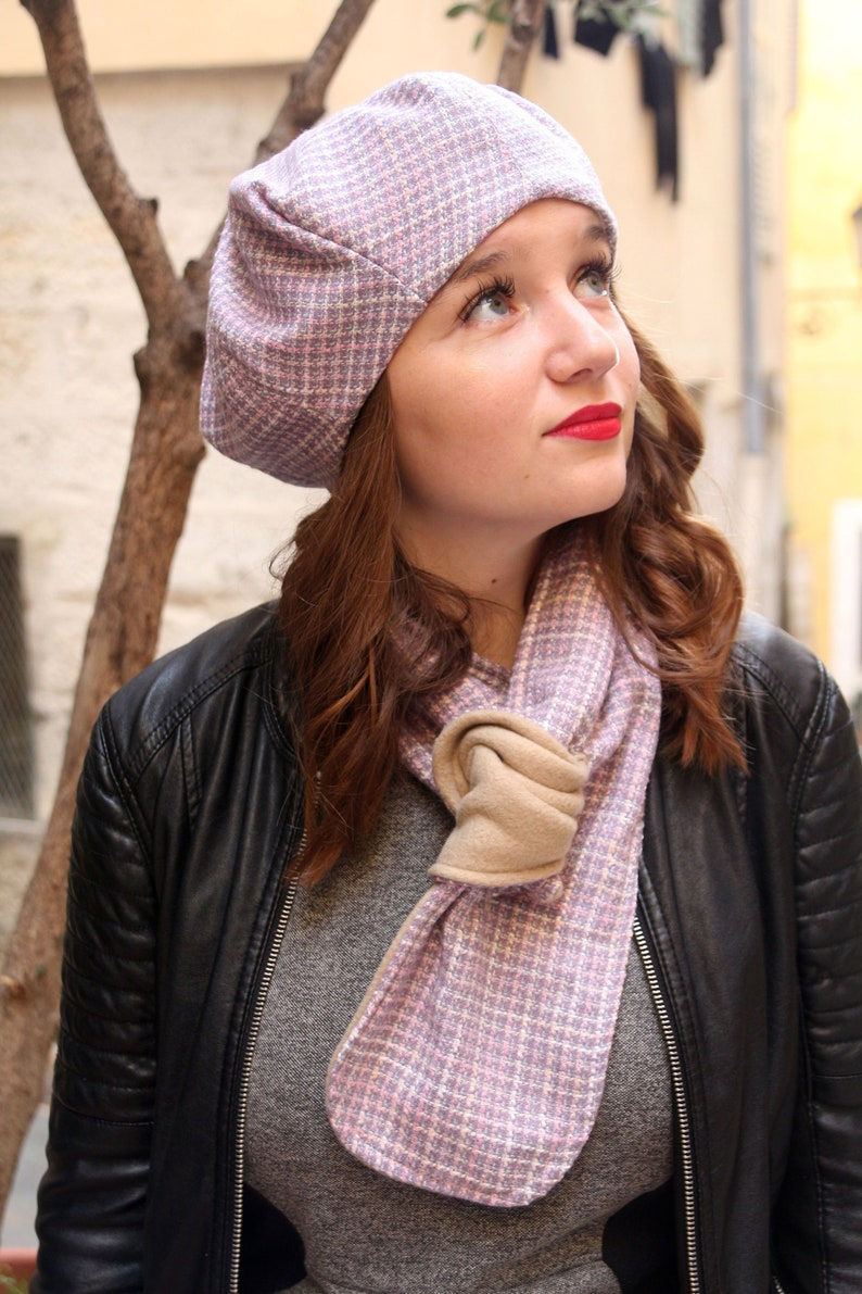 132414a690c0a French beret. Unique wool beret handmade in France. A unique