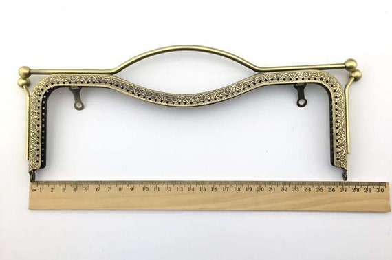 27cm10.6inch antique bronze purse metal bag frame | Etsy