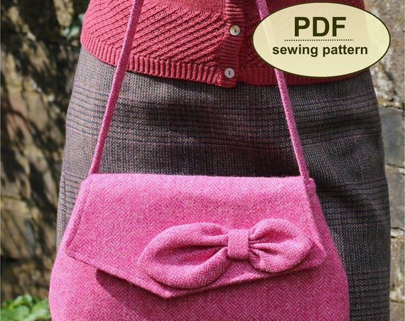 New: Sewing pattern to make the Sidestrand Bag - PDF pattern INSTANT DOWNLOAD