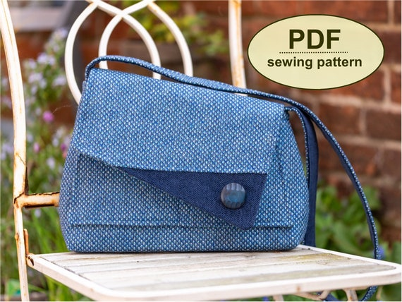 New: Sewing pattern to make the Orford Bag - PDF pattern INSTANT DOWNLOAD