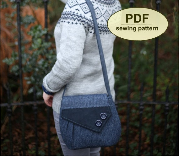 New: Sewing pattern to make the Bawdsey Bag - PDF pattern INSTANT DOWNLOAD