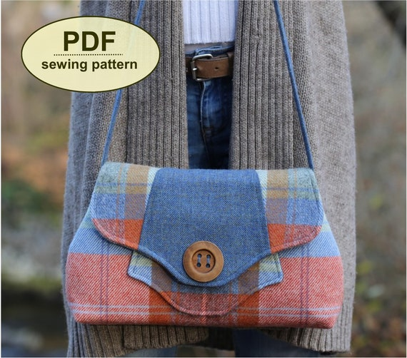 New: Sewing pattern to make the Raynham Bag - PDF pattern INSTANT DOWNLOAD