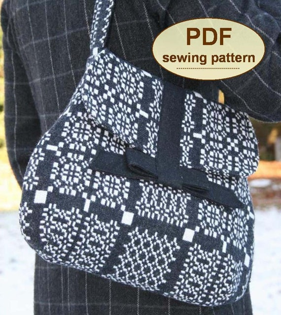 Sewing pattern to make the Land Army Bag - PDF pattern INSTANT DOWNLOAD