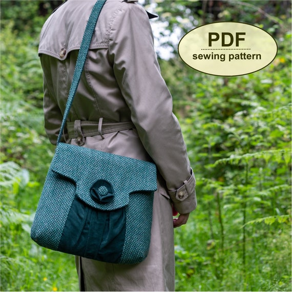 New: Sewing pattern to make the Suffield Bag - PDF pattern INSTANT DOWNLOAD