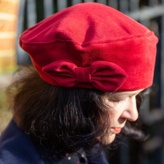New: Sewing pattern to make the Lavenham Beret - PDF pattern INSTANT DOWNLOAD - three sizes included