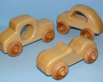 WOODEN WONDER 3 -  Wooden Toy Cars