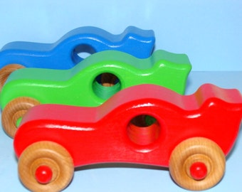 Wooden Sport Cars - (Set of 3) a great gift idea