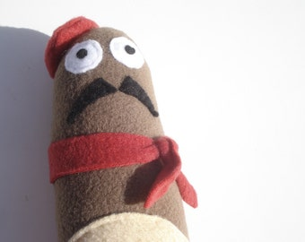 Jacques The French Baguette - Squeaky Dog Toy