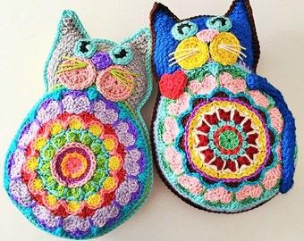 Kismet Kitty PP-648587 Instant Download Crochet Pattern Toy Babies Children Boys Girls Plush Softee Backpack Mascot item PP221