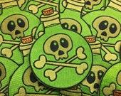 Spooky Poison Potion Bottle sew on patch