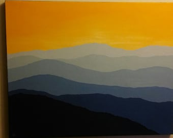 Sunrise - One of a kind Oil Painting