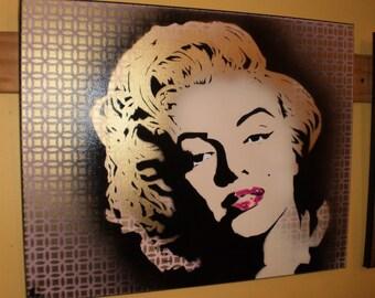 Monroe (glitter/design)