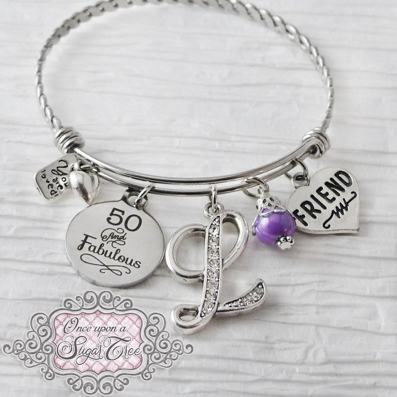 4d0559dd7940b 50e anniversaire cadeaux pour femmes bijoux anniversaire ou   Etsy