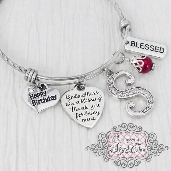 Godmother Birthday Gift Bracelet Blessed Gifts
