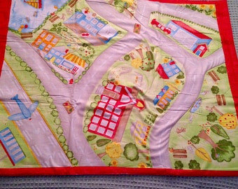 Quilt ~ Playmat ~ Road