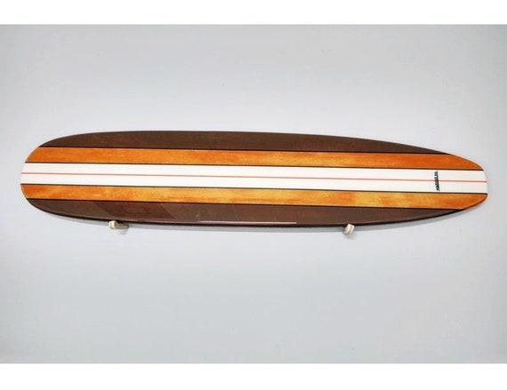 Old School Surfboard Wall Hanger Custom Surfboard Various Sizes Available