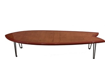 Surfboard Coffee Table Retro Fish Various Sizes
