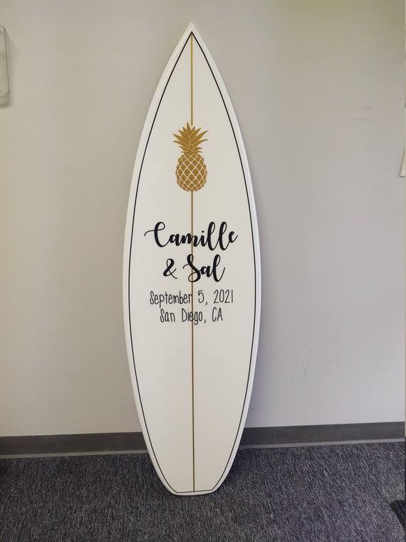 Wedding Signature Surfboard