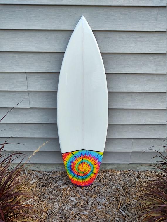 Tie Dye Shortboard Surfboard Wall Hanger Custom Surfboard Various Sizes