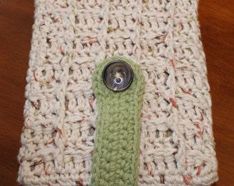 Kindle/Nook/eReader Flip Cover Crochet Pattern
