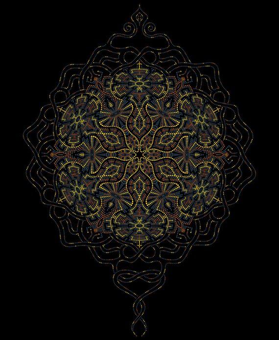 Festival Kleidung Männer Kapuze Weste mit heiliger Geometrie | Etsy