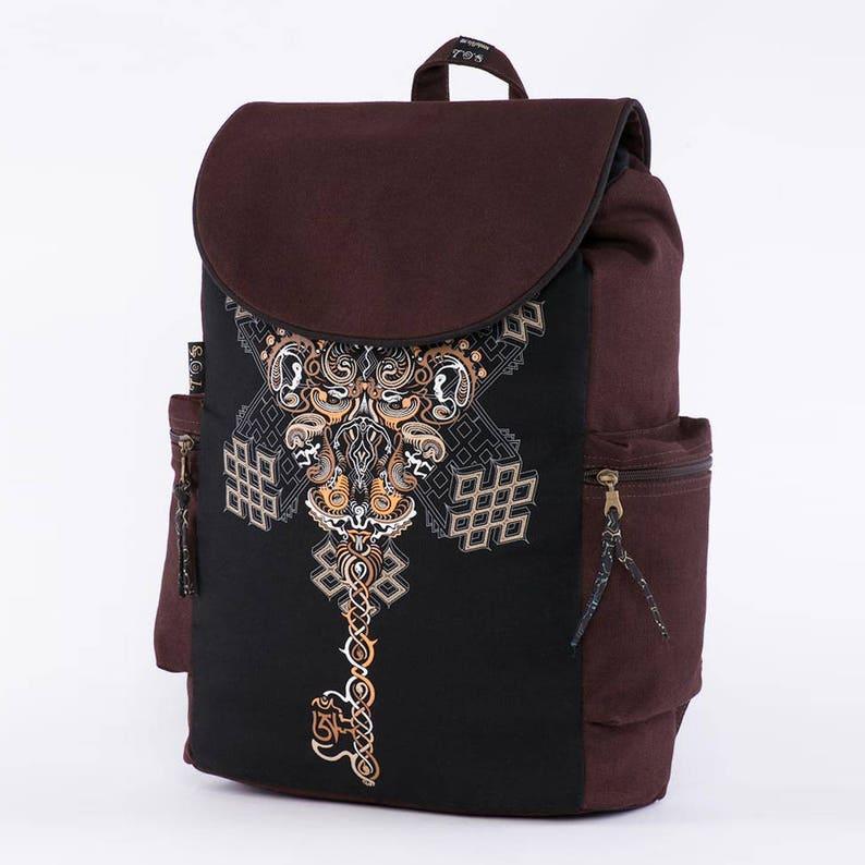 e581c540a38c Psychedelic Backpack, Laptop Backpack 13-15-17 inch, Laptop Bag, Festival  Backpack, Uv Glow, School Backpack, Canvas Backpack