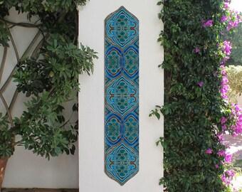 Arte della parete esterna set di piastrelle in ceramica per etsy
