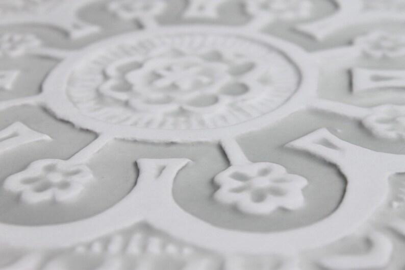 Adesivi piastrelle adesivo per cucina con motivo floreale