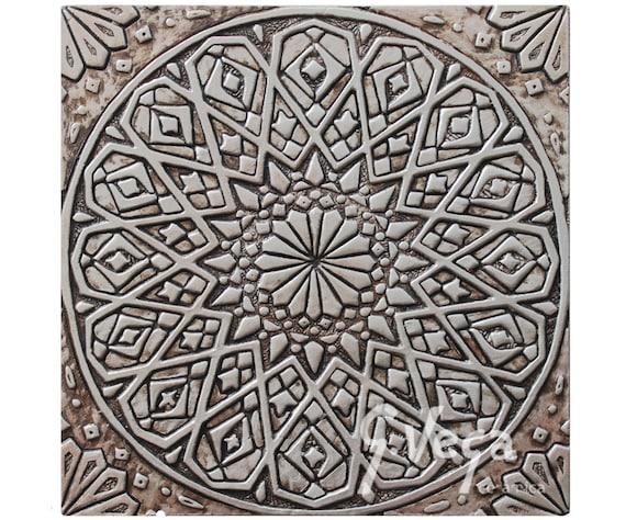 Attaccatura di parete marocchina scolpite in rilievo profondo etsy