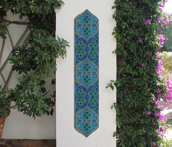 Beau DECORATIVE TILES Set Of 6 Ceramic Tiles To Decorate A Column   Etsy