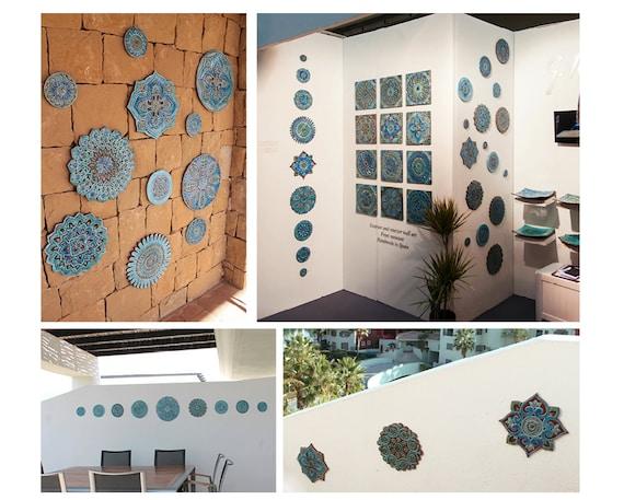 Piastrelle marocchine arte wall tile mattonelle etsy