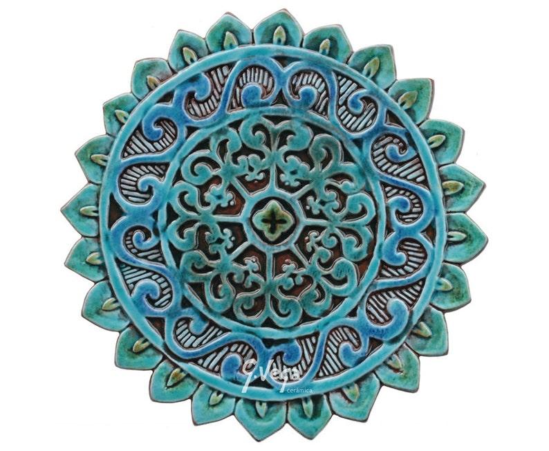 Day of the Dead Tile Mexican Folk Art Ceramic Tile by Heather Galler Sugar Skulls Skeleton DOD Lover Gift FLASH SALE