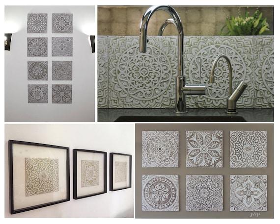 Piastrelle marocchine wall tile mattonelle di ceramica etsy