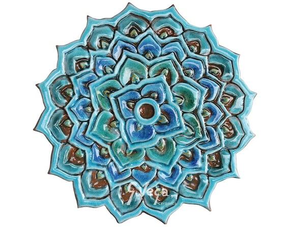 Piastrelle di ceramica piastrelle decorative etsy