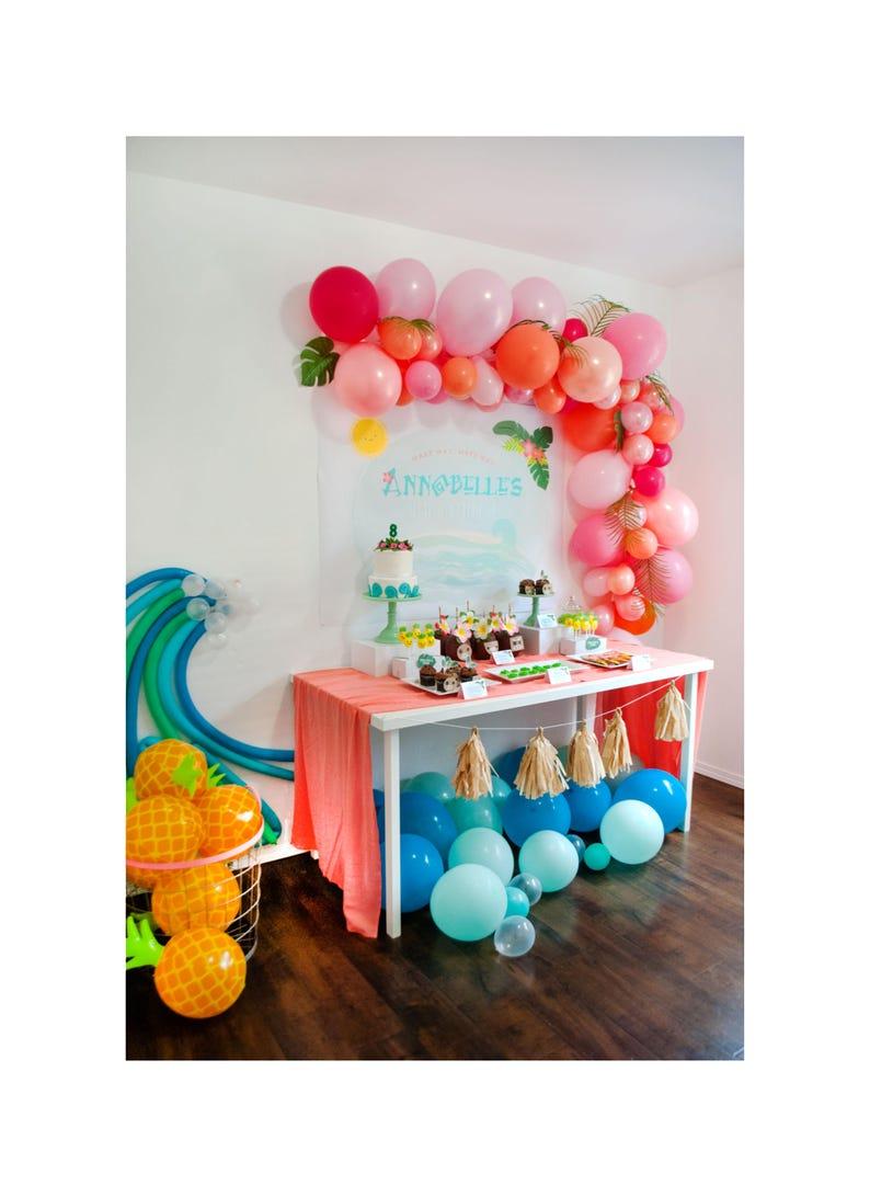 Moana Inspired Tropical Ocean Dreams Party Printable image 0