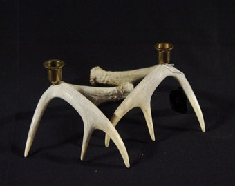 Antler Candle Holders - set of 2