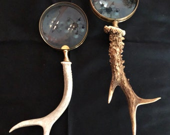 Antler Handled Magnifying Glass