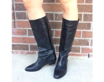 957200bc8f170 Flat boots | Etsy