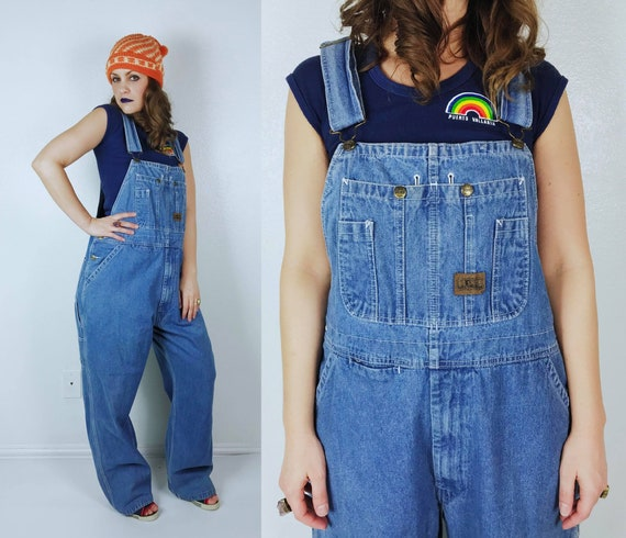 vintage BIG SMITH Long OVERALLS Extra Large utilit