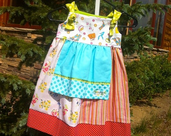 Swiss Miss Knot Dress - Size 8