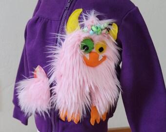 IN STOCK: Size 3T Girls Monster Hoody Jacket