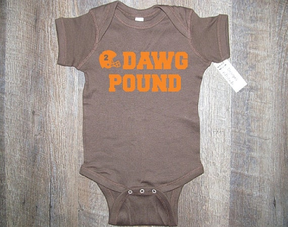 NFL football One Piece jersey outfit Baby bodysuit Newest fan Cleveland Browns