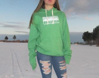 Colorado Ladies Hoodie Super Soft & Cozy! | Colorado Mountain Clothing | Colorado Gifts Handcrafted | Sweatshirt for women | Made in CO!