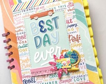 Summer Scrapbook | Summer Vacation Memory Book | Spanish Summer Themed Scrapbook