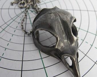 Bird Skull Pendant Necklace Anatomy Jewelry Skull Jewelry Skull Jewellery Skeleton Necklace