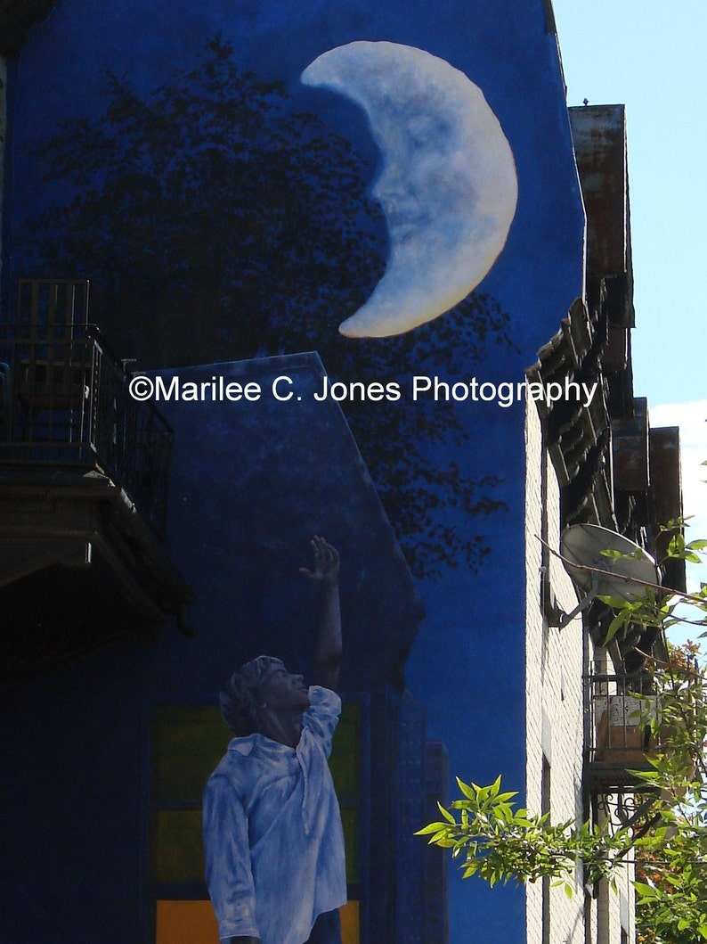 Moon Mural Fine Art Photo: Multiple Sizes Available