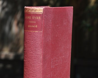 Jane Eyre by Charlotte Bronte, classic literature, book, novel