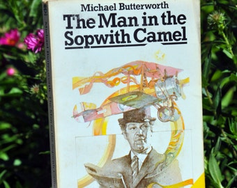 The Man in the Sopwith Camel by Michael Butterworth, criminal farce novel, Mad Major Kitteridge, Fontana 1977